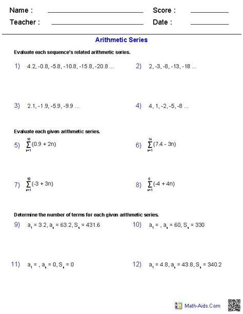 free printable math worksheets for junior high math sequence worksheets for high school math worksheets