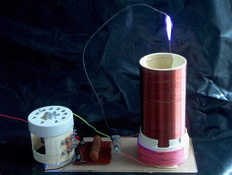 How To Make Tesla Coils Tesla Coil Mini