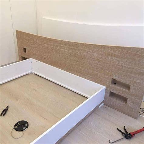 letto rovere letto in rovere con comodini estraibili inseriti nella