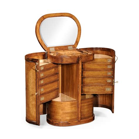 compact furniture walnut compact dressing table swanky interiors