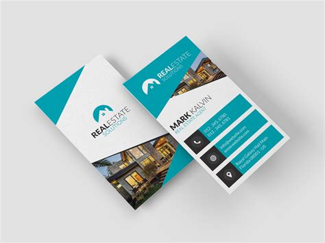 Real Estate Business Cards real estate business card 42 graphic