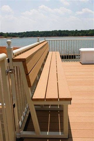 boat dock benches 17 best images about dock ideas on pinterest lakes bar