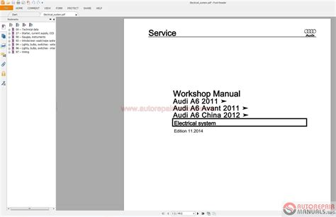 audi a6 2012 2015 service repair manual pdf auto repair manual forum heavy equipment forums