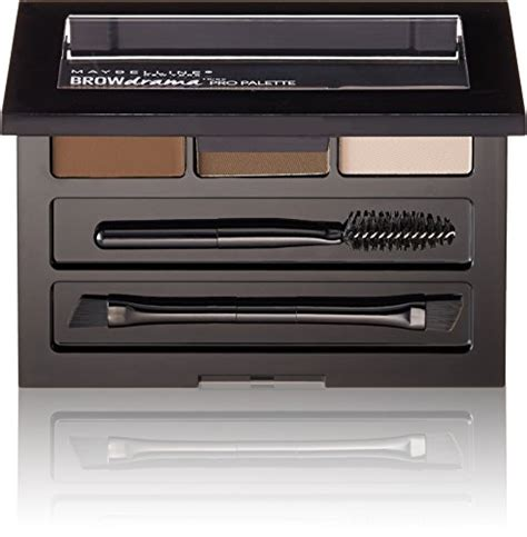 Maybelline Brow It Easy Kit maybelline brow drama pro eyebrow palette brown 0 1
