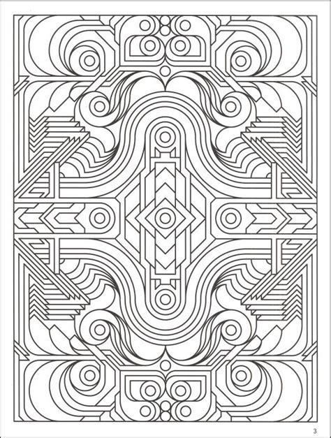 geometric coloring books complex coloring pages for adults coloringmillions of