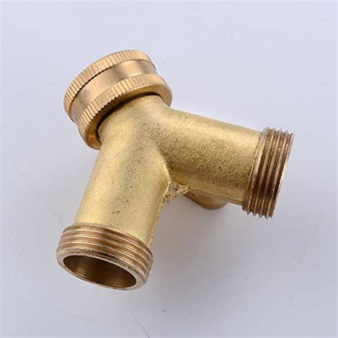 Garden Hose Diverter Kes Brass 3 Way Diverter Valve 3 4 Quot Garden Hose Splitter