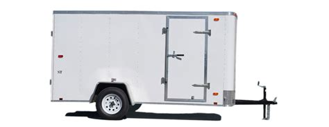 trailer white small cargo trailers st cargo utility trailers look