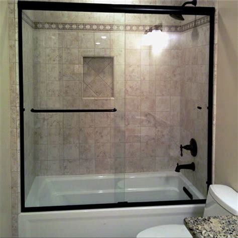 bathtub with shower enclosure shower enclosure styles dick s rancho glass