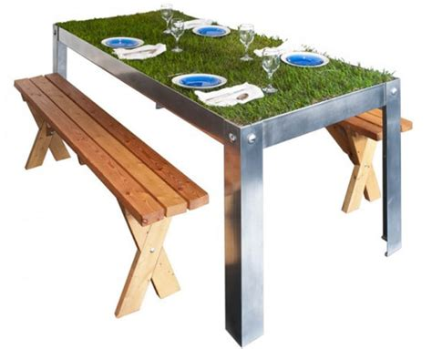 inspiration an indoor picnic table created with real