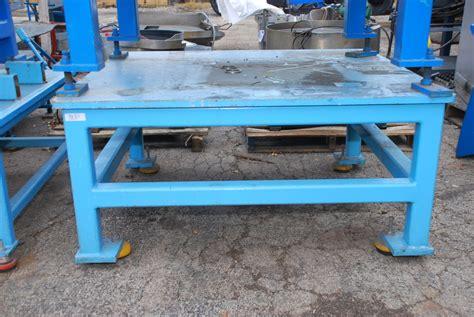 heavy duty steel welding table 54 quot x 48 quot x 26 quot with 1
