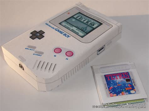 Gameboy Papercraft - gameboy papercraft by dil1880 on deviantart