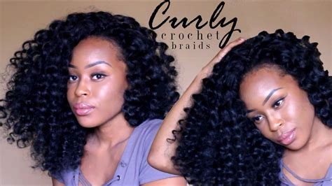 large curly braids big curly crochet braids no flexi perm rods carribbean