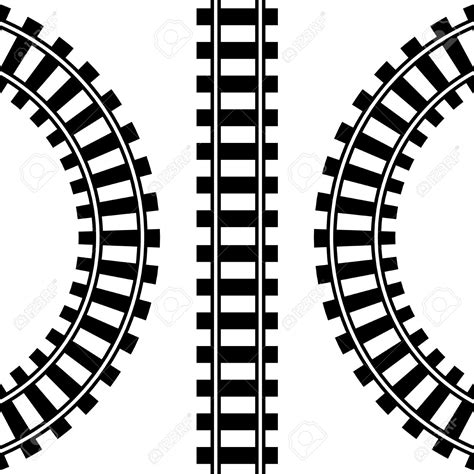 rr pattern words railway rails clipart clipground