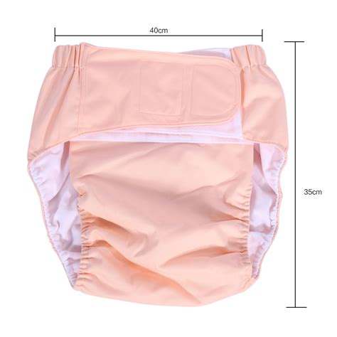 bed wetting in adults waterproof adjustable adult cloth diaper for bedwetting incontinence pants nappy