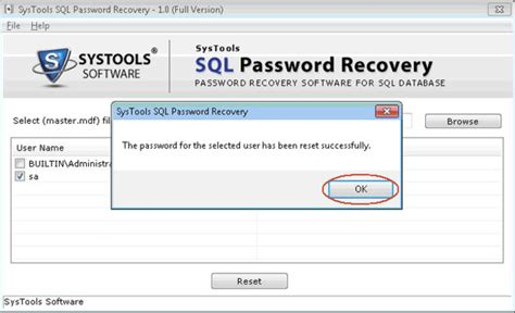 reset lds tools password sql password recovery free tool download