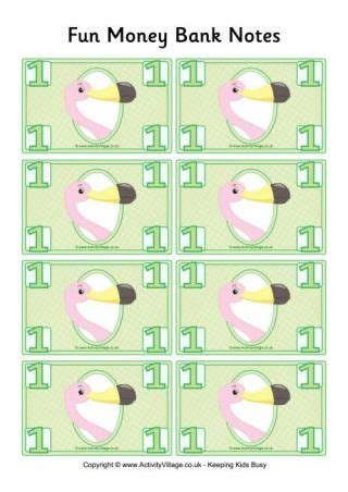 money template pounds banknote money and on