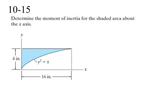 How To Find Moment Of Inertia Of I Section by Civil Engineering Archive December 08 2015 Chegg