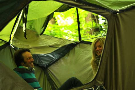 Tent With Hammock Inside tentsile treehouse tents provide a safe in the treetops tentsile inhabitat green