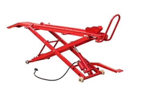 motorcycle air lift bench motorcycle lift air hydraulic manual 454kgs motorbike