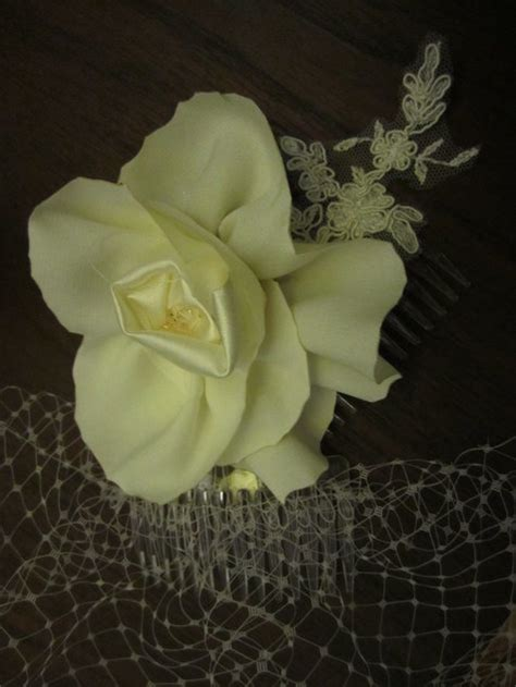 flower pattern veil bridal birdcage veil with flower lace hairpiece sewing