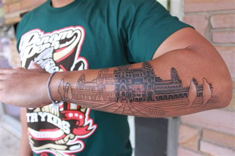 angkor wat tattoo sitting 1 by danktat on deviantart