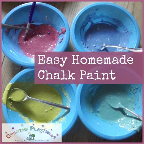 diy chalk paint uk creative playhouse easy chalk paint
