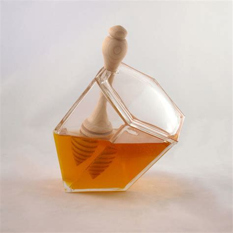 1449496369 milk and honey gift edition clear hive honey set cool hunting