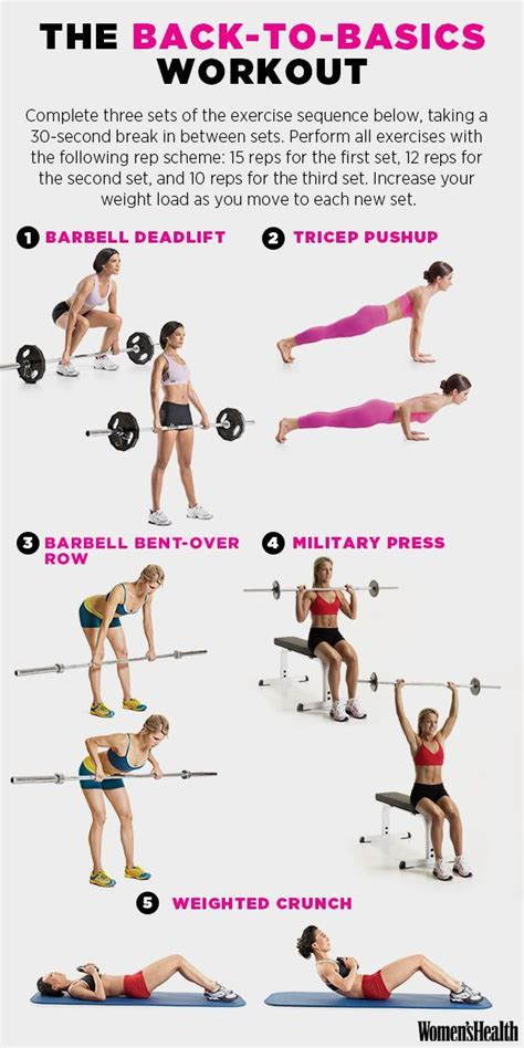 the 5 move workout that tones your entire workout