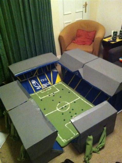 How To Make A Football Field Out Of Paper - the world s catalog of ideas