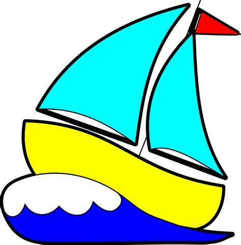 cartoon boat in waves imagem vetorial gratis veleiro barco 192 vela vela onda