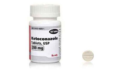 Tablet Ketoconazole ketoconazole tablets treating fungal infections in pets petcarerx