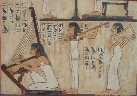 imagenes pinturas egipcias m 250 sica educaci 243 n y tic las fuentes para el estudio de la