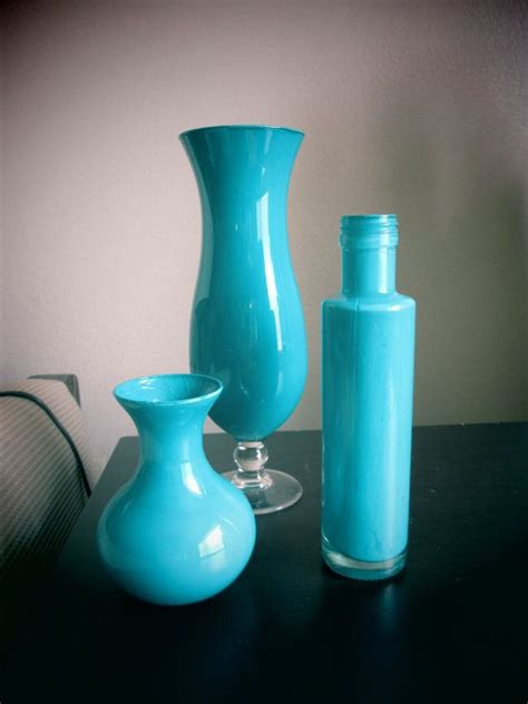 Turquoise Vase Set 17 Best Images About Home Decor On Ladder
