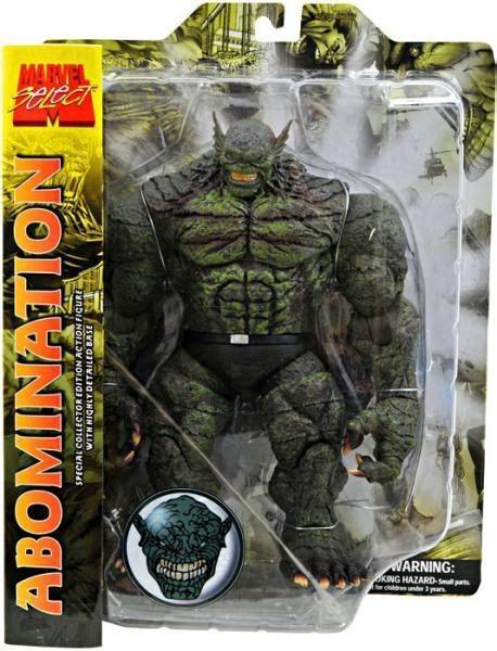 marvel marvel select abomination  action figure diamond select toys toywiz