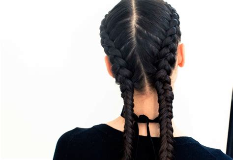 french braided weave 35 two french braids hairstyles to double your style