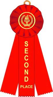 2nd place ribbon clipart clipartfest