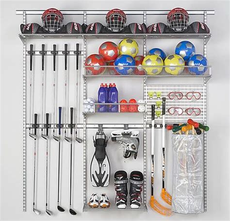 Garage Sports Storage Ideas Best 25 Sports Equipment Storage Ideas On