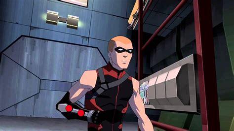 arsenal young justice damian wayne animated vs dick grayson arsenal animated
