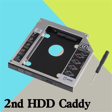 Hardisk Laptop Acer Aspire 4745g universal sata to sata 2nd hdd ssd disk drive caddy