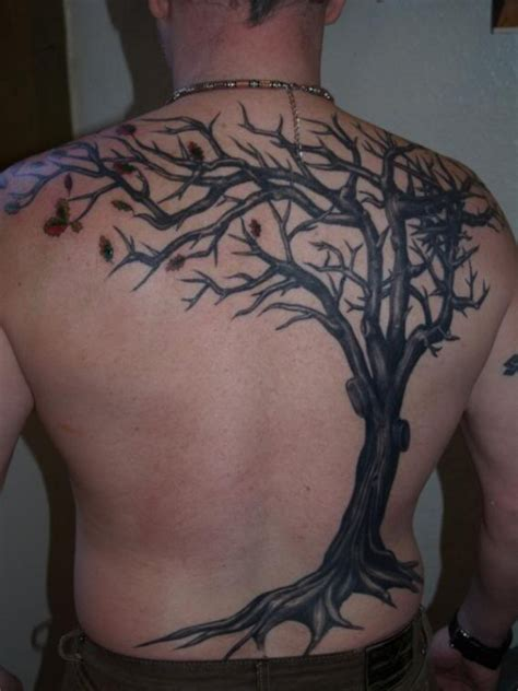 back tree tattoos family tree tattoos designs ideas and meaning tattoos