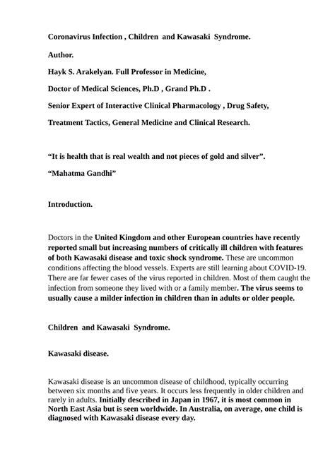 (PDF) Kawasaki Syndrome