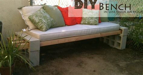 i love benches i love that junk diy bench in minutes the basement