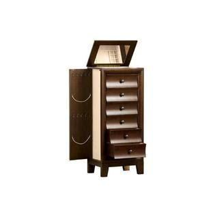 ashton jewelry armoire walnut jewelry armoire cherish all your favorites at sears
