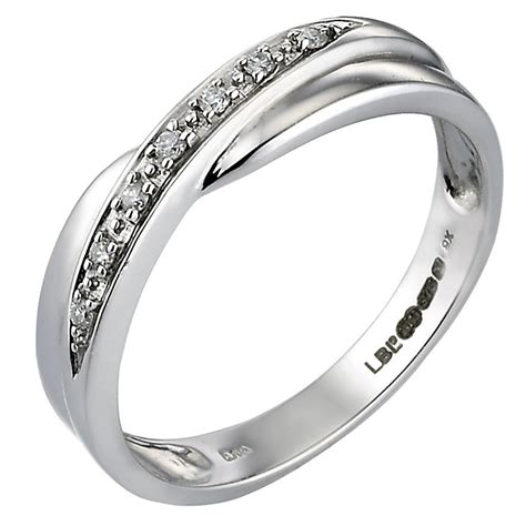 h samuel s 9ct white gold wedding ring