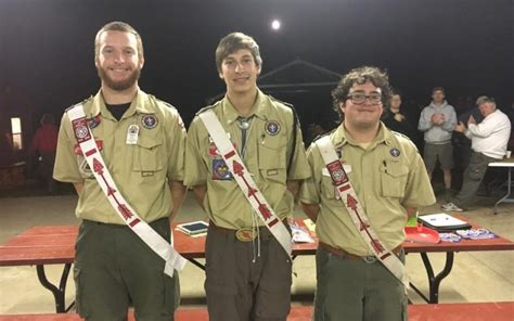 section 16 officers section c 1b serving arrowmen in the upper midwest
