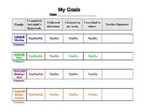 behaviour log template free behavior chart template