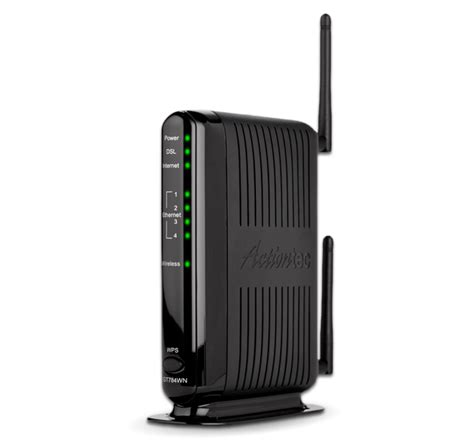 Modem Dsl Wifi dsl modem wireless router gt784wn actiontec