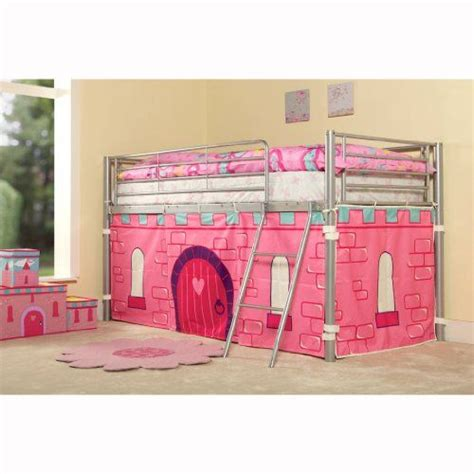Princess Mid Sleeper by Princess Metal Mid Sleeper Cabin Bunk Bed Tent