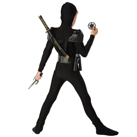 Black Costume by Black Fighter Child Costume Buycostumes
