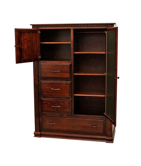 Chiffonier Armoire by Heirloom Chiffonier Craft Furniture